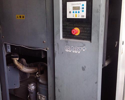 阿特拉斯GA37+空压机保养