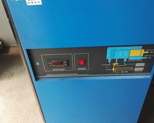 冷干机安装完工
