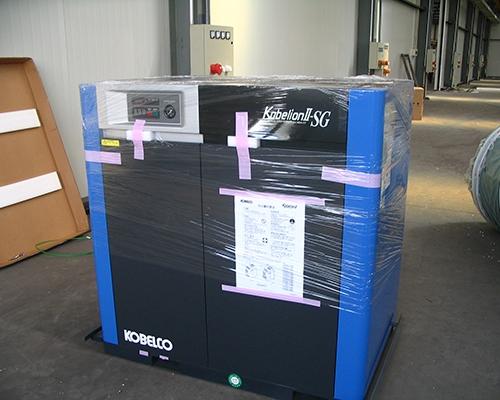 制造行业神钢SG390A-22安装完工