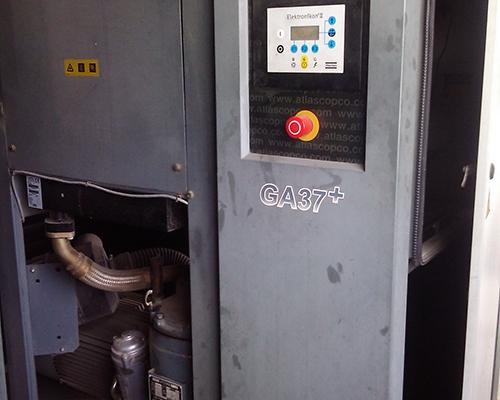 肥城阿特拉斯GA37+空压机保养