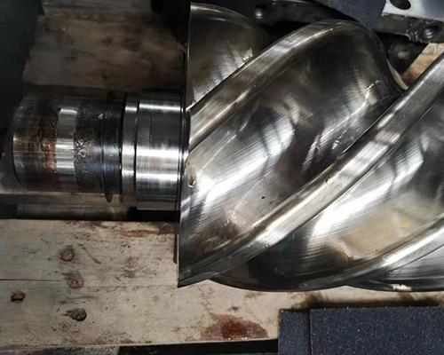 肥城V75-8空压机主机维修