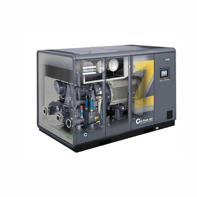 永磁变频空压机在工厂中的使用!